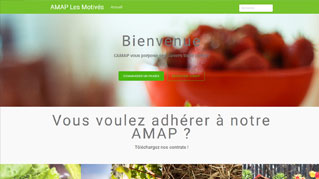site web wordpress amaplesmotives