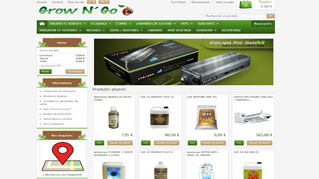 site ecommerce prestashop growngo